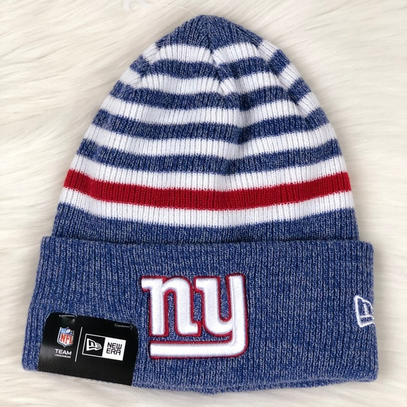 6d6077be6 New York Giants NFL Cuffed Knit Winter Beanie Hat Boutique